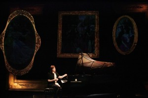 "Mona Golabek in ""The Pianist of Willesden Lane."" Photo: Michael Lamont"