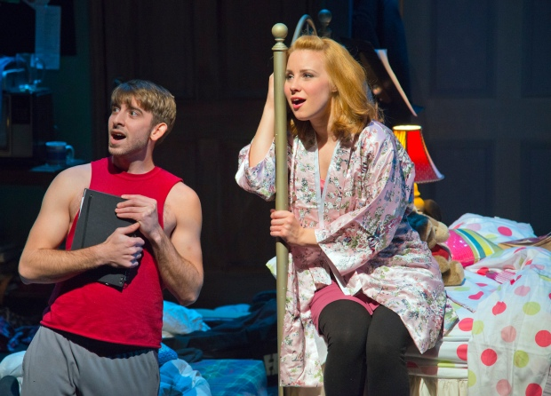 "Phil Tayler and Erica Spyres in ""Marry Me a Little."" Andrew Brilliant/Brilliant Pictures"