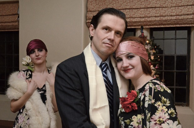 """Angela Bilkic, Lewis Wheeler and Marge Dunn in """"Holiday."""""""
