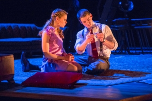 "Celia Keenan-Bolger and Brian J. Smith in ""The Glass Menageries."" Photo: Michael J. Lutch"