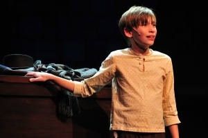 "Charlie Clinton as Oliver Twist in ""Oliver."" Photo: Gary Ng."