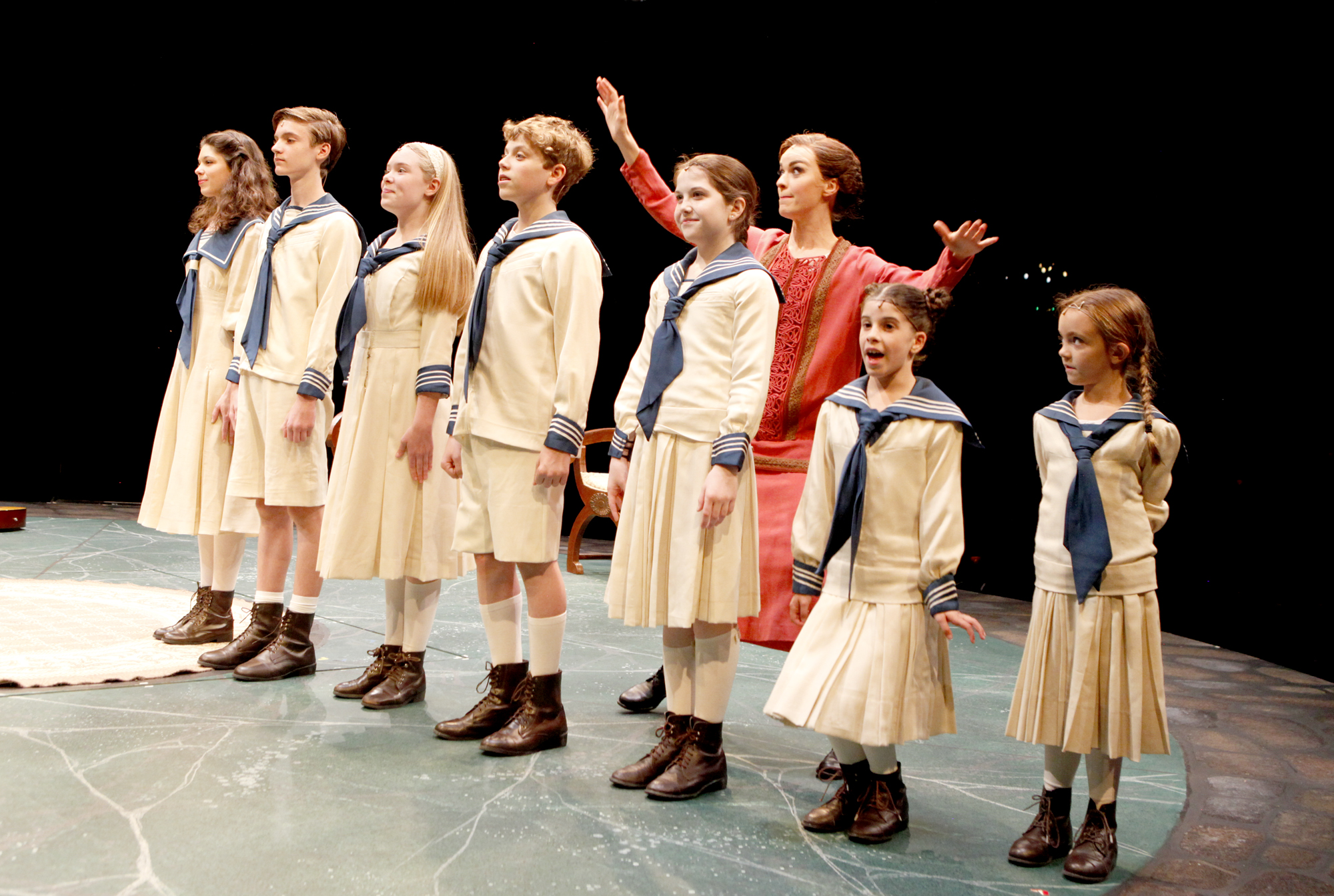of THE SOUND OF MUSIC running June 11 – 23, 2013. Photo©Paul Lyden
