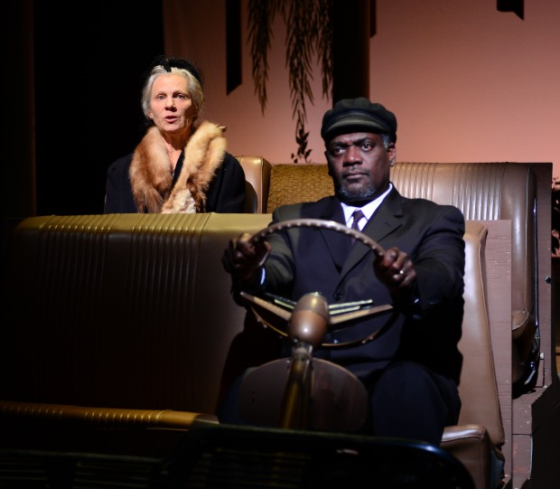 "Lindsay Crouse as Daisy Werthan and Johnny Lee Davenport as Hoke Coleburn in ""Driving Miss Daisy."" Photo: Gary Ng"