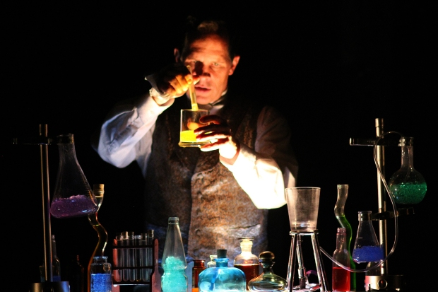 "Benjamin Evett as Jekyll in ""Dr. Jekyll and Mr. Hyde."" Photo: David Costa"