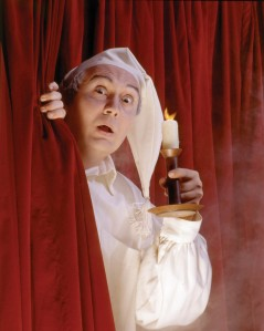 """David Coffee as Scrooge in North Shore Music Theatre's 1992 """"A Christmas Carol."""" Photo: Paul Lyden"""