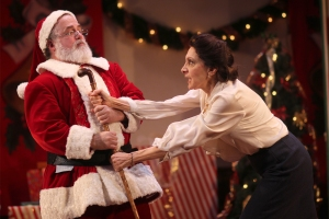 "William Gardiner and Donna Sorbello in ""Miracle on 34th Street."" Photo: David Costa"