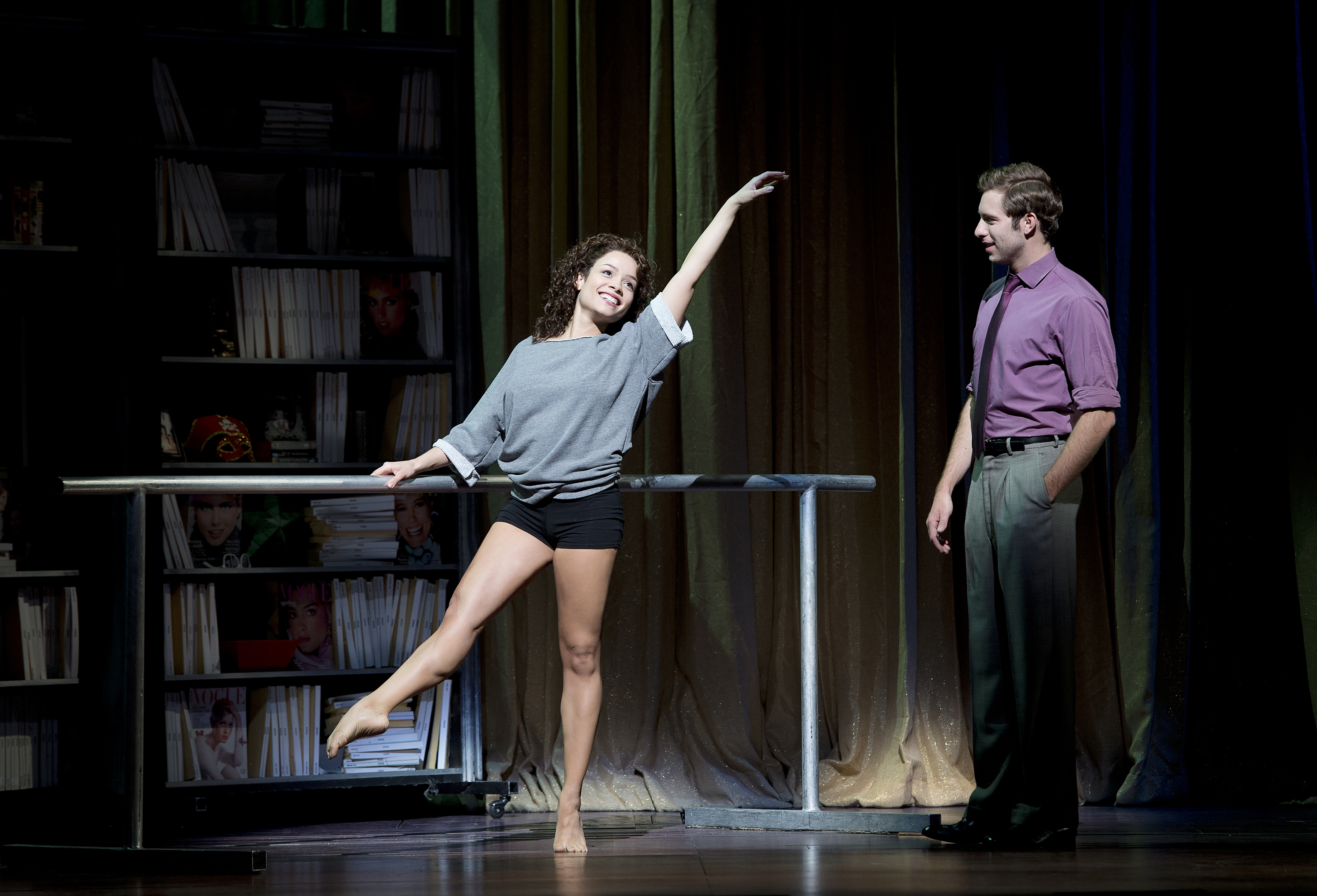 When the dancing stops, 'Flashdance' fizzles | onbostonstages