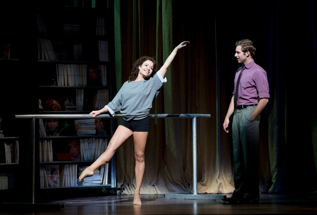 "Sydney Morton and Corey Mach in a scene from the national touring production of ""Flashdance: The Musical."" Photo by Denise Truscello"