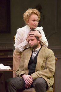 Kate Burton and Morgan Ritchie in the Huntington Theatre Company's production of Anton Chekhov's THE SEAGULL. March 7 - April 6, 2014 at Avenue of the Arts / BU Theatre. huntingtontheatre.org. Photo T. Charles Erickson