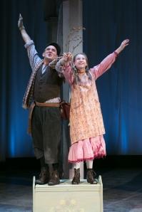 "Andrew Barbato and Brigit Smith in ""the Secret Garden."" Photo: Mark S. Howard"