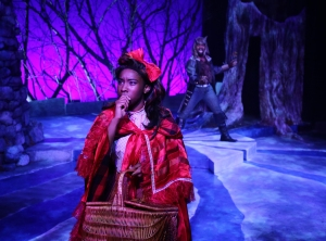 "Maritza Bostic and Maurice Emmanuel Parent in ""Into The Woods.""  Photo by Mark S. Howard."