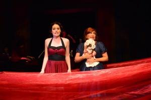 Carousel: Jennifer Ellis and Shana Dirik. Photo: Gary Ng