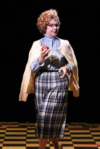 Cheryl McMahon as Miss Lynch in North Shore Music Theatre's production of GREASE. August 12 - 24, 2014. Photo © Paul Lyden