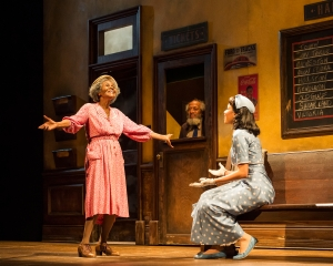 "L-R: Cicely Tyson, Arthur French and Jurnee Smollett-Bell in the critically acclaimed, Tony-nominated Broadway revival of Horton Foote's American masterpiece ""The Trip to Bountiful""  Photo by Craig Schwartz"