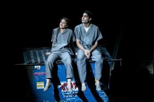Romi (Olivia Thirlby ) and Prakash (Babak Tafti) find love. Photo: Evgenia Eliseeva