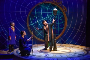 "L-R: Wil Moser, Laura Jo Trexler, and Andrew Barbato in ""the Little Prince."" Photo: Andrew Brilliant, Brilliant Pictures"
