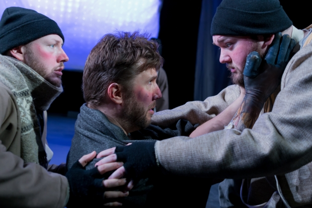 """A scene from the Flat Earth Theatre production of Ted Tally's """"Terra Nova."""" Photo: Jake Scaltreto"""