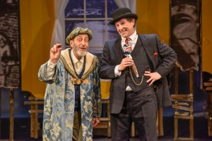 "Will LeBow and Jeremiah Kissel in ""The King of Second Avenue."" Photo: Andrew Brilliant/Brilliant Pictures"