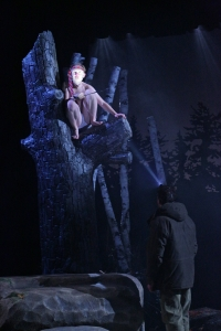 Brooks Reeves and Alexander Platt* in NEVILLE'S ISLAND.  Photo credit: Mark S. Howard
