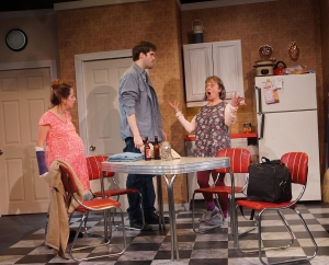 Pattie (Micah Greene), Buddy (Andrew Winson) and Kimberly (Sheriden Thomas) - Photo by Sharman Altshuler