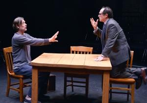 "Ken Cheeseman and Jeremiah Kissel in ""Ulyyses on Bottles."" Photo: Paul Marotta"