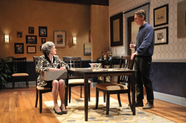 "Nancy E. Carroll and Michael Kaye in ""Mothers & Sons."" Photo: Craig Bailey/Perspective Photo"