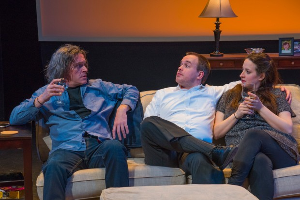 "Ciaran Crawford, Peter Stray and Lida Uberbacher in Ronan Noone's ""Scenes From an Adultery."" Photo: Andrew Brilliant/Brilliant Pictures"