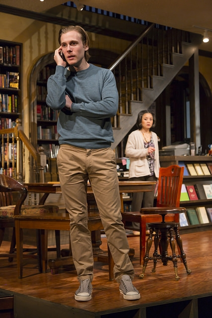 "Zachary Booth and Tini Chilip in ""After All The Terrible Things I do."" Photo: T. Charles Erickson."