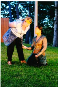 "Juliet Bowler and Mara Elisa Palma in ""A Winter's Tale."""