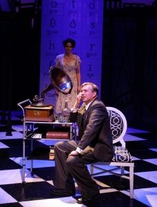 "Jennifer Ellis and Christopher Chew in  ""My Fair Lady."" Photo: Mark S. Howard"