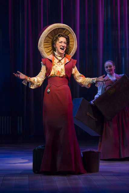 Haydn Gwynne as Desiree Armfeldt in A Little Night Music. Photo by T. Charles Erickson.