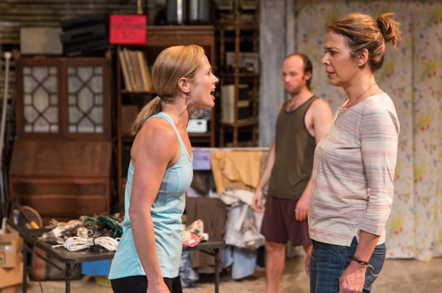 "Rachael (Tamara Hickey) confronts Toni (Melinda Lopez) in a scene from ""Appropriate."" Photo: Nile Hawver/Nile Scott Shots."