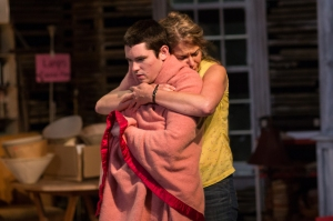 """Eliot Purcell and Melinda Lopez in """"Appropriate."""" Photo: Nile Hawver/Nile Scott Shots."""