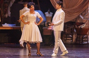 Pamela Turpen and Waldemar Quinones-Villanueve in Fiddlehead Theatre Company's production of West Side Story at the Strand Theatre. Courtesy Fiddlehead Theatre Company/Matt McKee Photo""