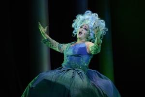 Shana Dirik as Ursula the Sea Witch. Courtesy Fiddlehead Theatre Company/©Eric Antoniou