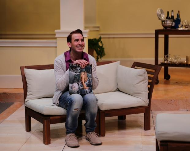 "Phil Tayler as Alex Moore in Buyer &Cellar."" Photo: Mark S. Howard"