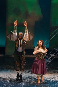 "Maurice Emmanuel Parent and Victoria Britt in ""The Snow Queen."" Andrew Brilliant/Brilliant Pictures"