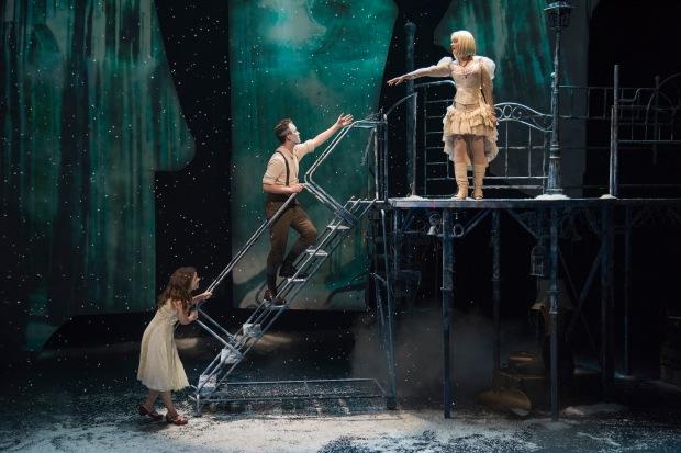 "Victoria Britt, Nick Sulfaro and Aimee Doherty in ""The Snow Queen."" Andrew Brilliant/Brilliant Pictures"