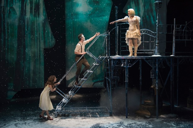 "Victoria Britt, Nick Sulfaro and Aimee Doherty in ""The Snow Queen."" Andrew Brilliant/Brilliant Pictures"