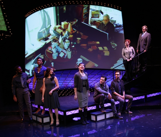 "The cast of the Lyric Stage Company production of ""Sondheim on Sondheim."" Photo: Mark S. Howard."