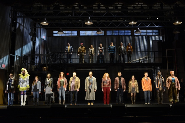 """The cast of the Fiddlehead Theatre Company's 20th anniversaryh proiduction of """"Rent."""" Photo courtesy Fiddlehead Theatre Company  copyright Eric Antoniou"""
