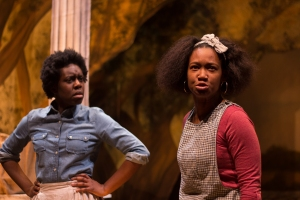 OBEHI JANICE AND ELLE BORDERS IN AN OCTOROON Photo Credit: Paul Fox