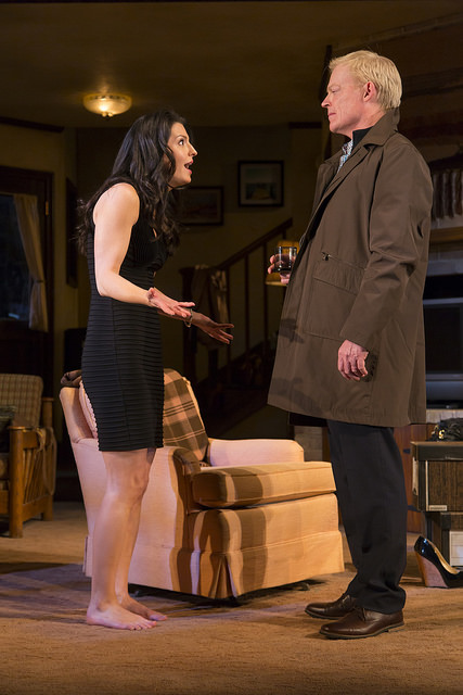 "Meredith Forlenza and Allyn Burrows in ""Can You Forgive Her?"" Photo: T. Charles Erickson."