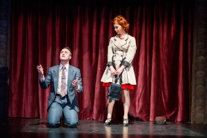 "Nick Sulfaro and Vanessa Dunleavy in ""Sweet Charity."" Nile Hawver/Nile Scott Shots."