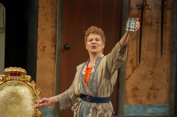 """Lindsay Crouse as Lettice Duffet in """"Lettice and Lovage."""" Photo By Kippy Goldfarb/Carolle Photography"""