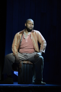 "Brian Kinnard as Joe in ""Show Boat."" Photo: ©Eric Antoniou"