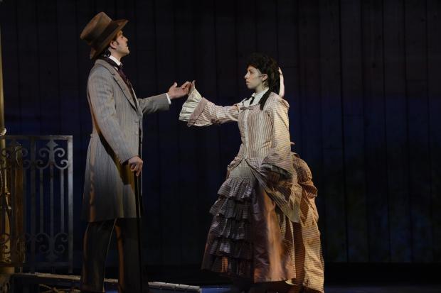 "Jeremiah James and  Kim Corbett in Fiddlehead Theatre Company's ""Show Boat."" Photo: ©Eric Antoniou_28"