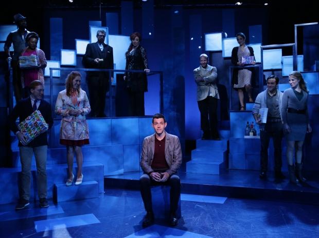 "The cast of the Lyric Stage Company of Boston production of ""Company."" Photo: Mark S. Howard"