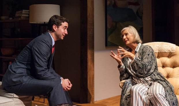 Alejandro Simoes & Sarah deLima in MARJORIE PRIME. Photo: A.R. Sinclair Photography.