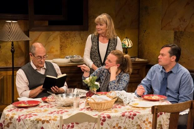 "Joel Colodner, Karen MacDonald, Laura Latreille, and Bill Mootos in ""Regular Singing.""  Andrew Brilliant, Brilliant Pictures"